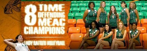 FAMU Volleyball Team