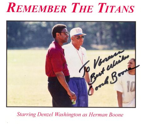 Herman Boone, Remember the Titans 001