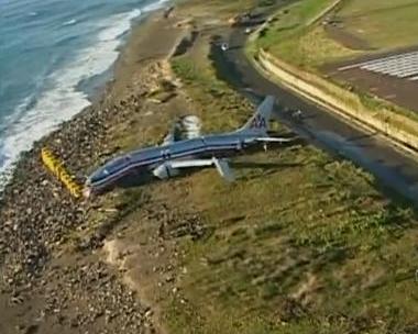 Plane crash at Norman Manley International Airport