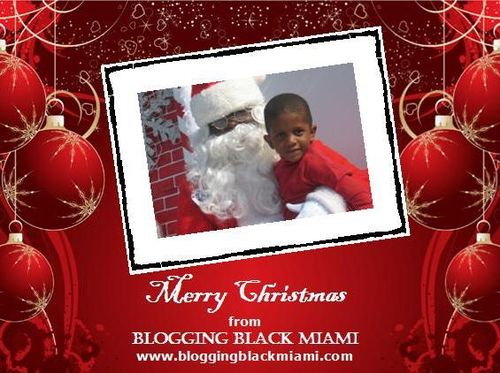 Merry Christmas from Blogging Black Miami