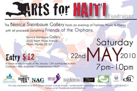 Arts for haiti