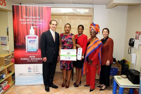 Purell Donates 250+ Dispensers