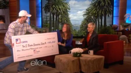 Rachel Faust on the Ellen Show