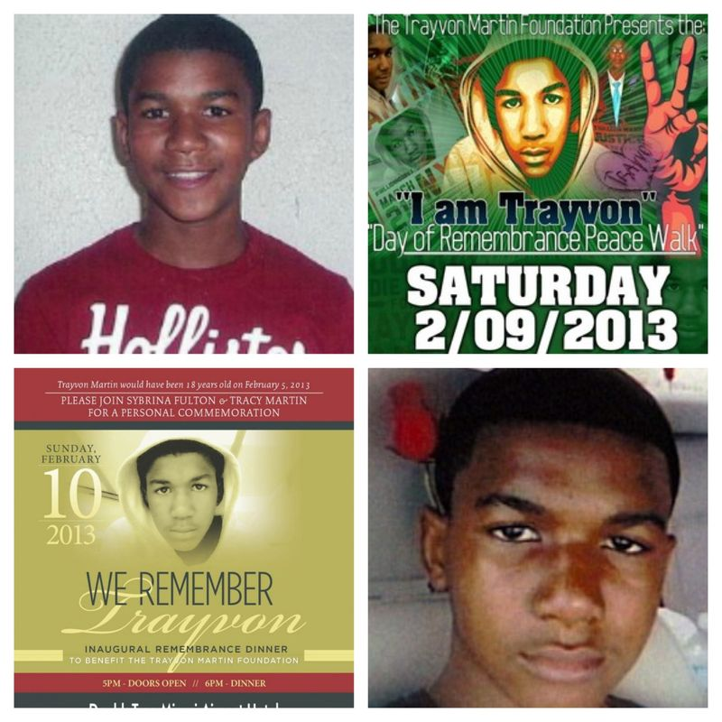 Trayvon Martincollage