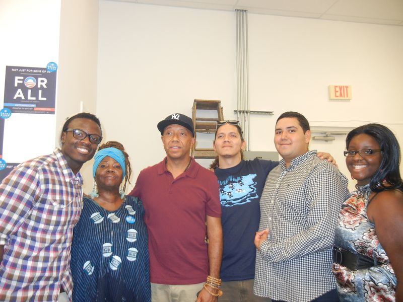 Russell Simmons at OFA Field Office in Miami