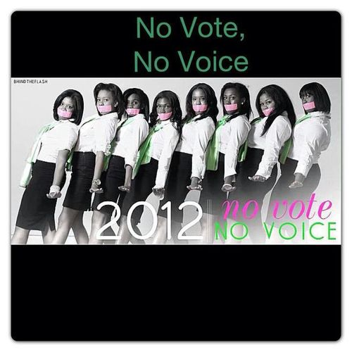 AKA No Vote No Voice