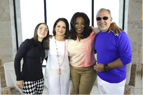 Oprah and the Estefans