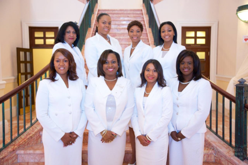 Dade County Links New Members and Chapter President 2014