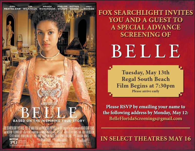 BELLE Regal Sobe Screening