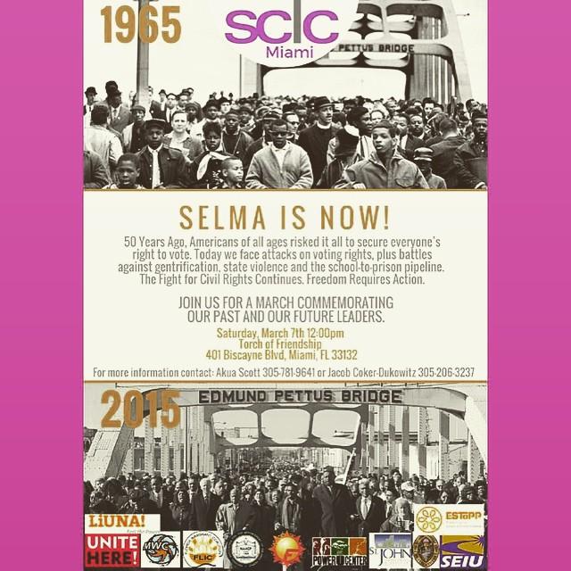 Selma march miami