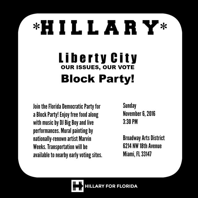 Hillary Block Party-4