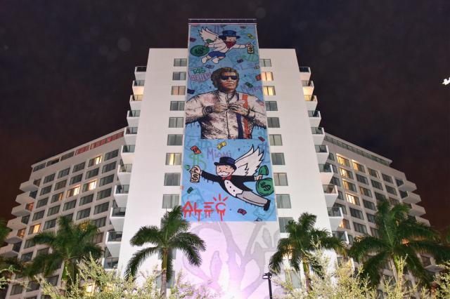 Alec Monopoly Art Basel Miami 2016