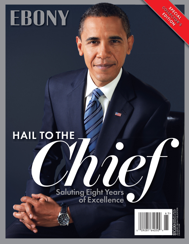 EBONY MAGAZINE OBAMA SPECIAL EDITION COVER