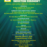 Miami Jackson Alumni Hall of Fame Induction March 3, 2018