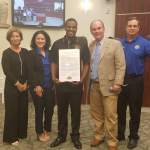 Village of Palmetto Bay Recognizes Alpha Phi Alpha for Community Service