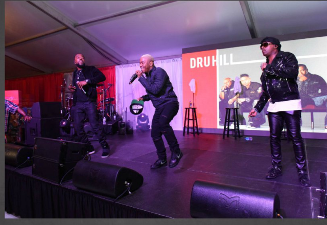 Dru Hill Art Basel Miami 2016