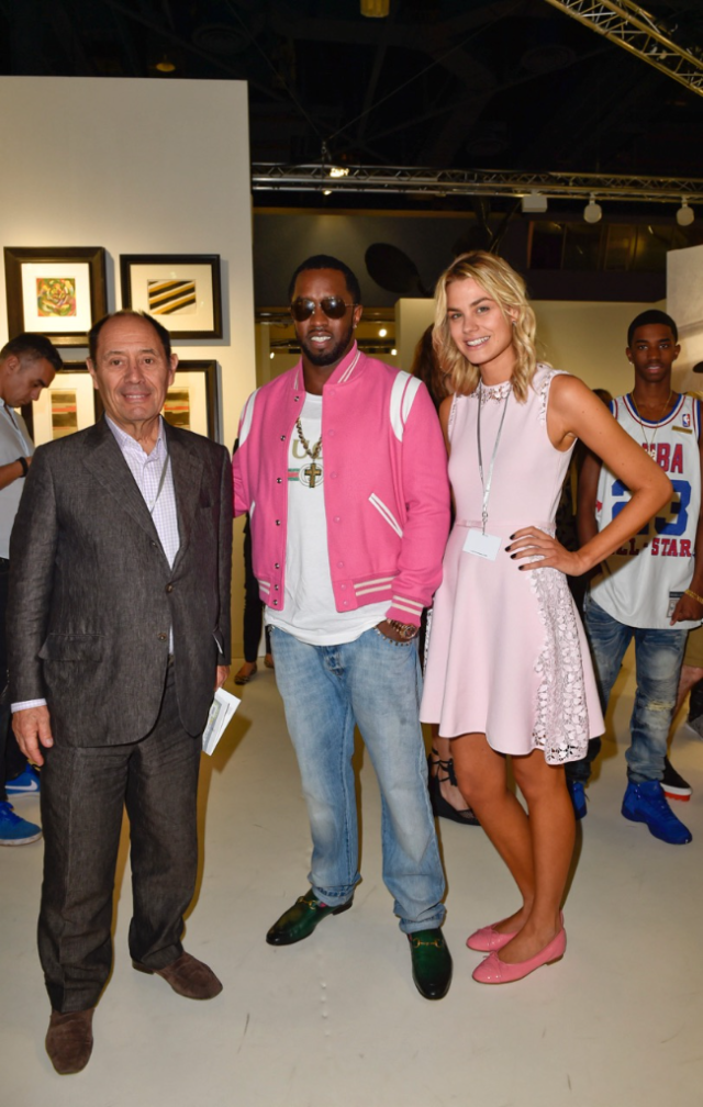 P Diddy at Art Basel Miami 2016