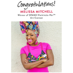 Miami's Melissa Mitchell wins SPANX Illuminate-Her™️ Art Contest!