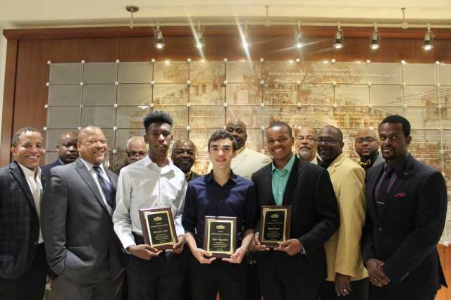 South Miami Alphas Scholarship winners 2018