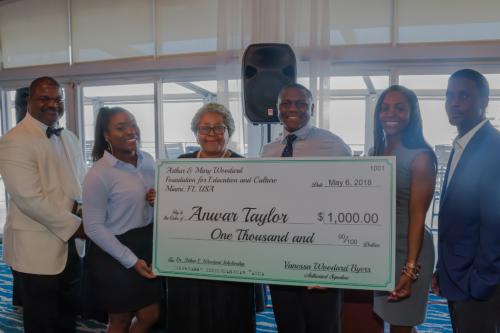 Anwar Taylor - Arthur Woodard Scholarship