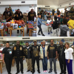 South Miami Alphas Partner with Miami-Dade NPHC to Spread Holiday Cheer in Florida City