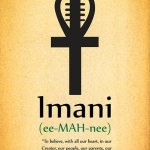 Happy Kwanzaa! Day 7: Imani - Faith