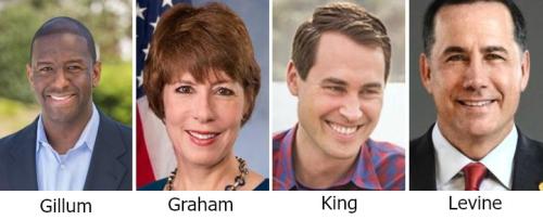 2018 dem gubernatorial candidates