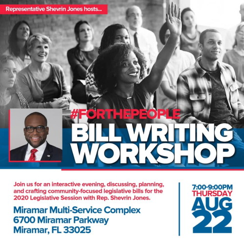 Bill writing workshop