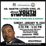 MLK Youth Symposium to explore the role of youth in activism