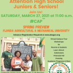 AKAs Present Virtual Spring Preview of Florida A&M University, 11 AM Saturday March 27