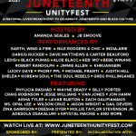 Juneteenth Unityfest, Livestreamed Celebrity Event, June 19, 2021 5pm-9pm ET