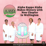 Alpha Kappa Alpha Makes History with New Chapter in Wellington